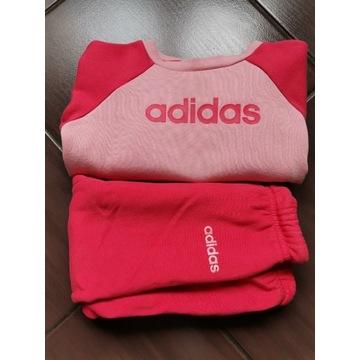 Dres Adidas rozm 18-24 msc spodnie bluza