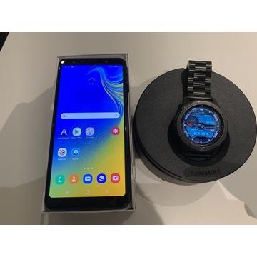 Samsung Galaxy A7 oraz Gear S3 frontier