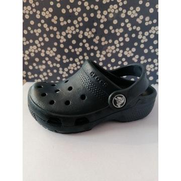 Oryginalne buty klapki CROCS granatowe r. 24 - 25