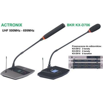 Mikrofon bezprzewodowy pulpitowy BKR KX-D706