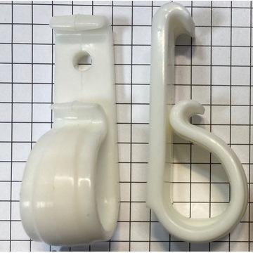 Haczyki wieszaki 30szt. uchwyty b-clamp z wkrętami