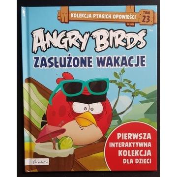 Książka Angry birds Zasłużone wakacje tom 23