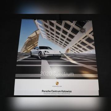 KALENDARZ PORSCHE 2020 SPECTRUM ŚCIENNY + MEDAL