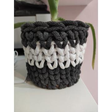 Handmade koszyczki ręcznie robione ze sznurka