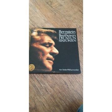 winyl box Bernstein Beethowen die neun sinfonien