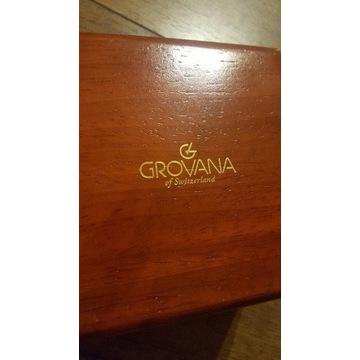 GROVANA luksusowe drewniane pudełko na zegarek