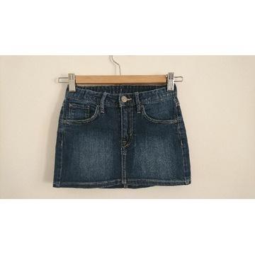 H&M dżinsowa spódniczka 128