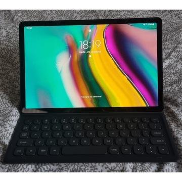 Tablet Samsung Galaxy Tab S5e LTE + klawiatura