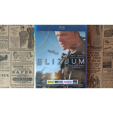 Elizjum Blu-Ray