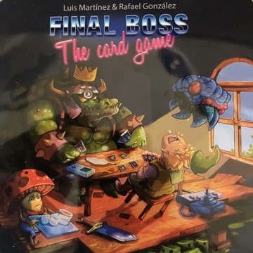 Final Boss The Card Game