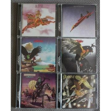 Budgie 6 x CD Noteworthy RZADKIE zestaw!