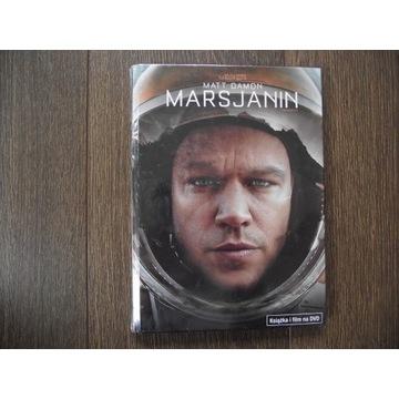 MARSJANIN, film (DVD), nowy w folii