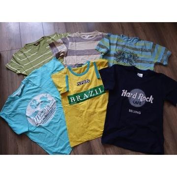Pakiet ubrań chłopięcych - rozmiar 140-152