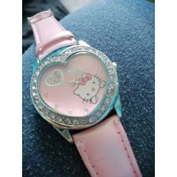 Śliczny zegarek Helly Kitty