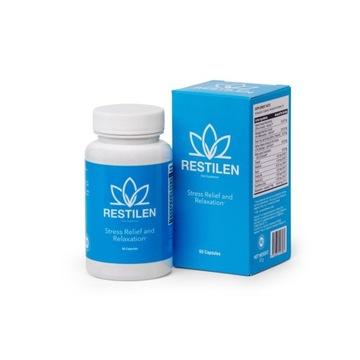 Tabletki na nerwy i stres Restilen - daje ukojenie
