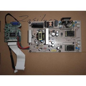 Zasilacz monitora + logika  LG FLATRON L192WS-SN