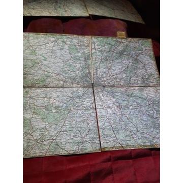Stara mapa około 1918. Berlin
