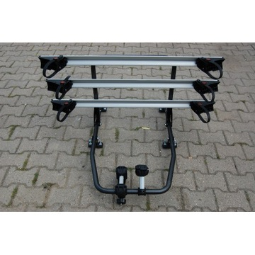 Bagażnik na rowery do kamper przyczepa