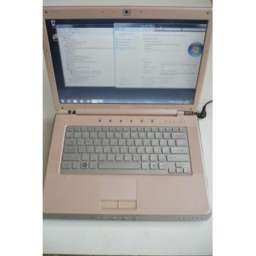 Laptop Sony VAIO PCG-5G3L 320 GB HDD kamerka