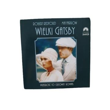 Wielki Gatsby Redford Farrow film VCD