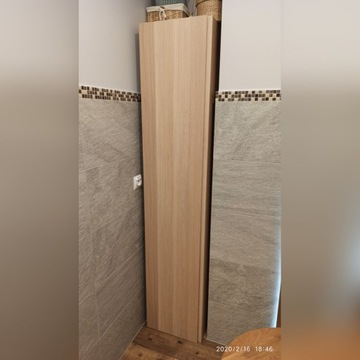Szafka IKEA Godmorgon dąb 192 cm wys. wisząca