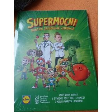 Książka dla dzieci o zdrowym odżywaniu - nowa