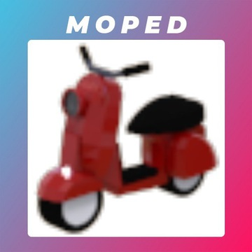 Roblox Adopt Me Moped