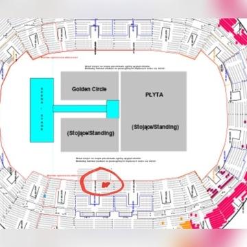 Bilety Maluma koncert 6 szt miejsca obok siebie