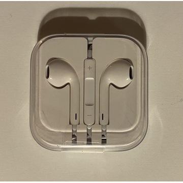 Apple EarPods nowe, zafoliowane