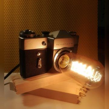 Aparat lampka z Revueflex-B (Zenit B) + gratis!