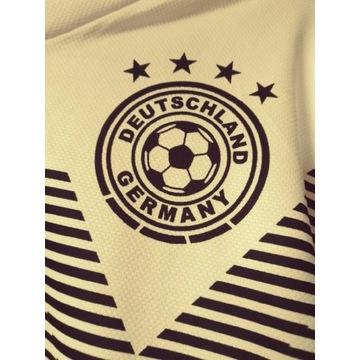 Koszulka pilkarska biala Germany 5 Hummels