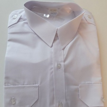 Koszula biała długi rękaw L