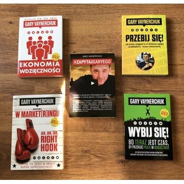 ZESTAW Gary Vaynerchuk - Książki Gary Vee - PAKIET