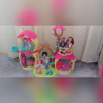 Domek Enchantimals z lalkami