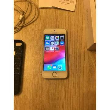 Iphone 5s Silver 16GB Model A1457 stan bardzo dobr