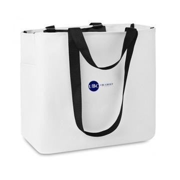 SPORT'S BAG torba z poliestru biała