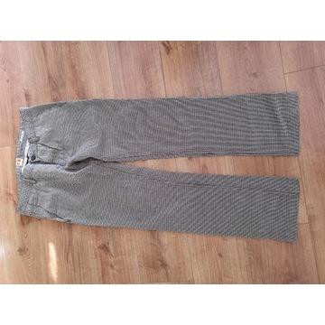 Spodnie hugo boss materiałowe
