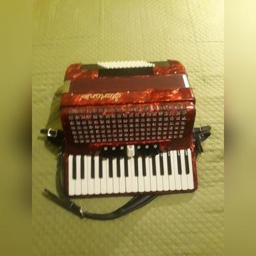 Akordeon Startone Piano 72 bas - nowy, 2 lata gw.