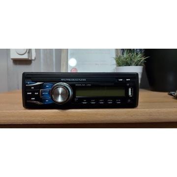 Radio samochodowe 1090 4x45W USB,AUX,SD + pilot