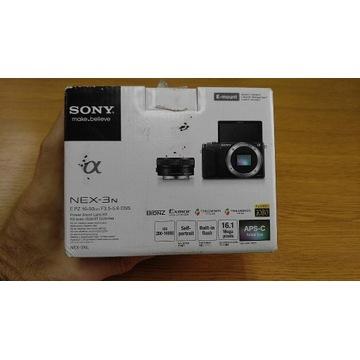 Sony Nex 3N idealny stan+ dodatkowy obiektyw