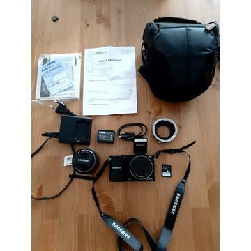 Aparat SAMSUNG Smart Camera NX1100 obiektyw 20-50