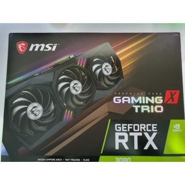 Karta Graficzna Rtx 3080 MSI Gaming X Trio