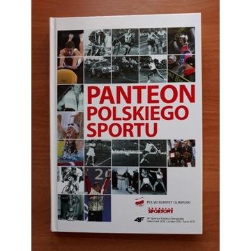 Panteon polskiego sportu, prac. zbior.   historia