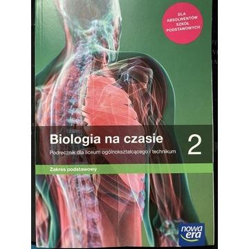 Biologia na czasie klasa 2 podręcznik
