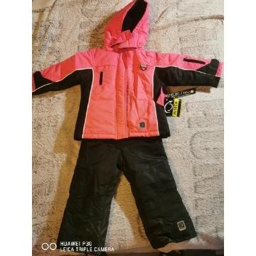 Kurtka narciarska spodnie kombinezon dwuczęściowy