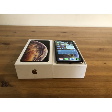 Apple iPhone XS MAX 256 GB GOLD zestaw