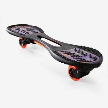 Waveboard OXELO WB 120 czarny/fioletowy