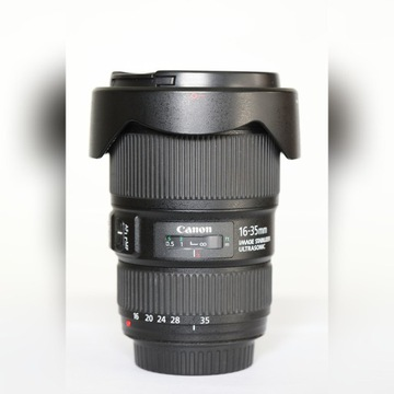 Obiektyw canon EF 16-35mm f/4L