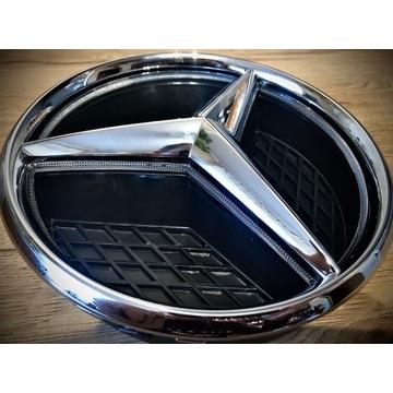 Emblemat Gwiazda LED Mercedes Oryginał W218 C117