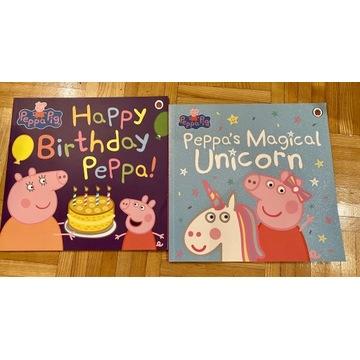 Peppa Pig, duże książeczki po angielsku idealne